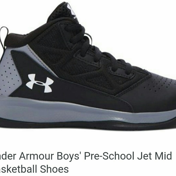 6f1c5c2a Under Armour Shoes | Boys Preschool Kids Jet Basketball 3y | Poshmark